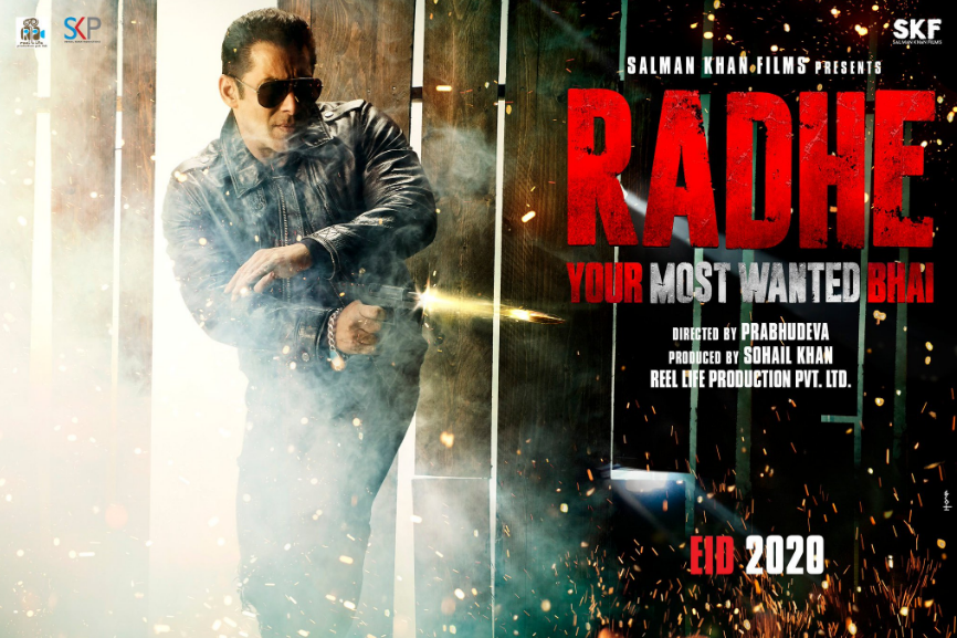radhe your most wanted bhai movie poster